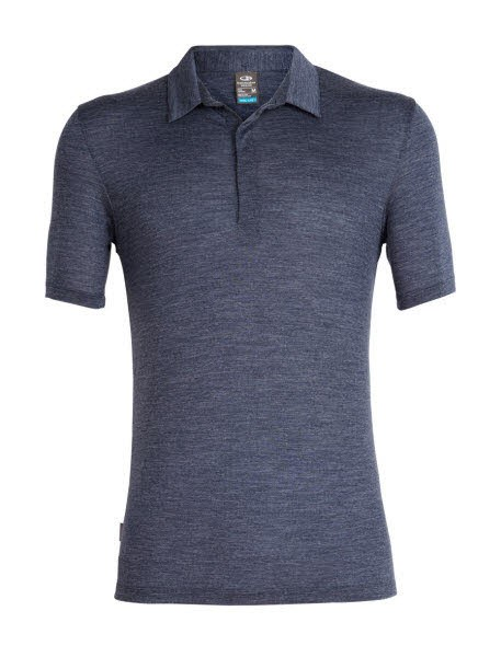 Icebreaker Mens Solace SS Polo