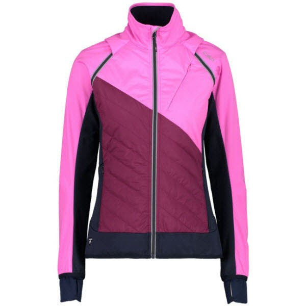 CMP WOMAN JACKET WITH DETACHABLE SLEEVE