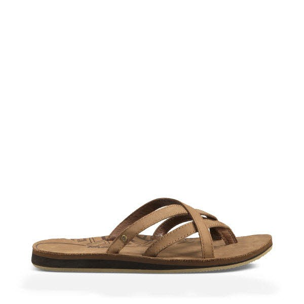 Olowahu Leather Sandal Womens Größensystem in US - Bild 1
