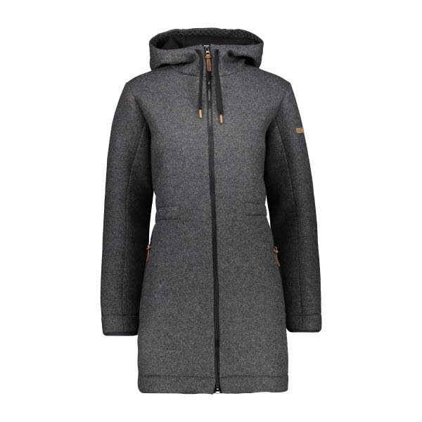 WOMAN PARKA FIX HOOD