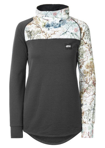 Picture Blossom Grid Fleece